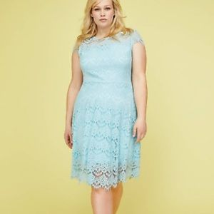 NWT Blue lace dress